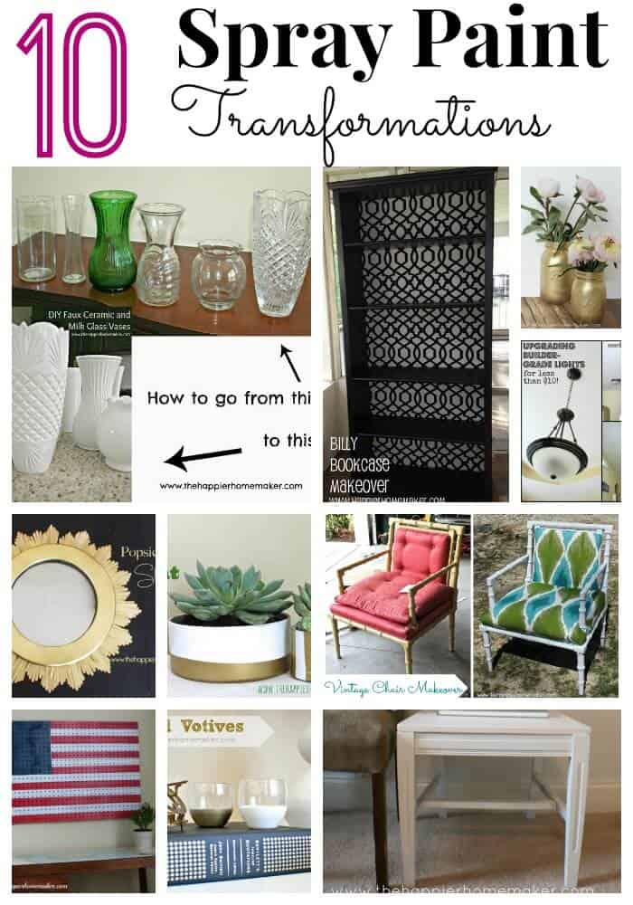 10 spray paint transformations