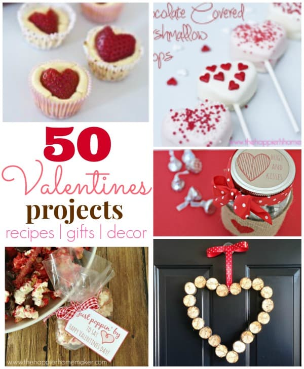 50 valentines day projects recipes gifts