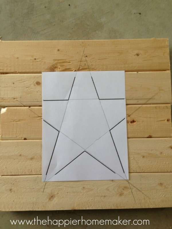 diy star art pottery barn