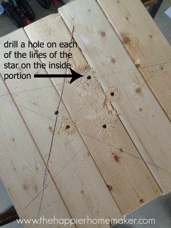 how to cut star out of wood jigsaw