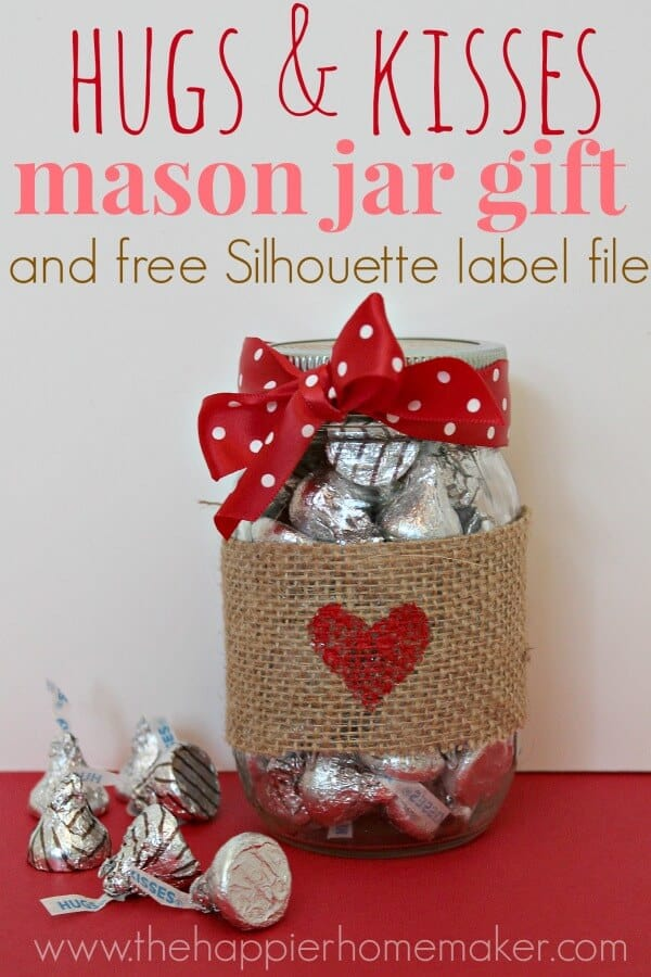 homemade valentine gift ideas with hershey kisses | just b ...
