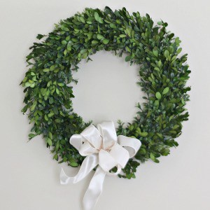 How to Tie a Wreath Bow