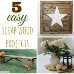 5 easy scrap wood projects
