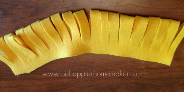 how to make felt flower