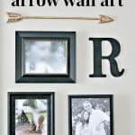 pottery barn arrow art