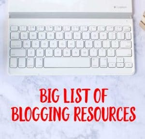 Huge list of everything you need to start and run a money-making blog