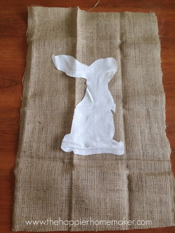 cutting bunny banner pottery barn