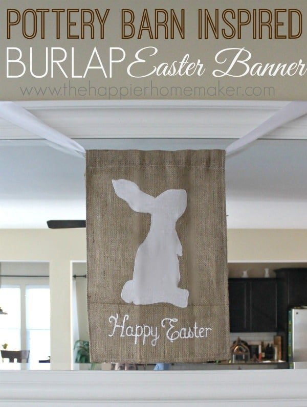 Pottery Barn Inspired Easter Banner
