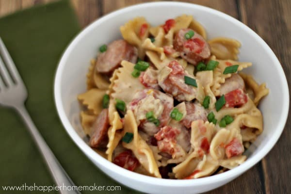 Skinnier Spicy Sausage Pasta Recipe