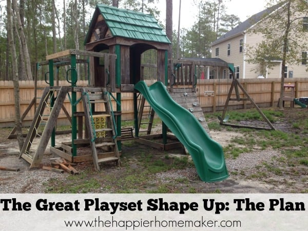 The Great Playset Shape Up: The Plan