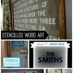 5 diy word art ideas