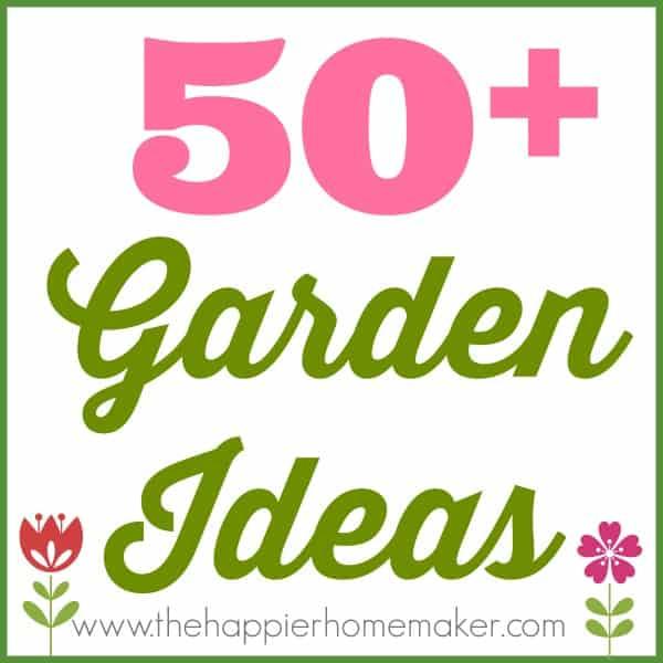 50 garden ideas