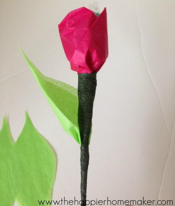 chocolte flower tutorial diy