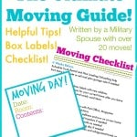 A printed guide to moving