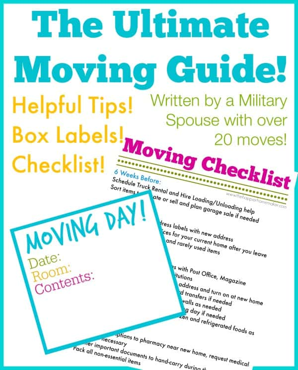 The Ultimate Moving Guide!