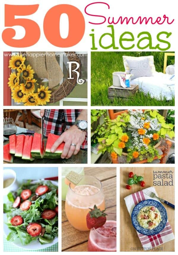 50 Fun Summer Recipes & Projects