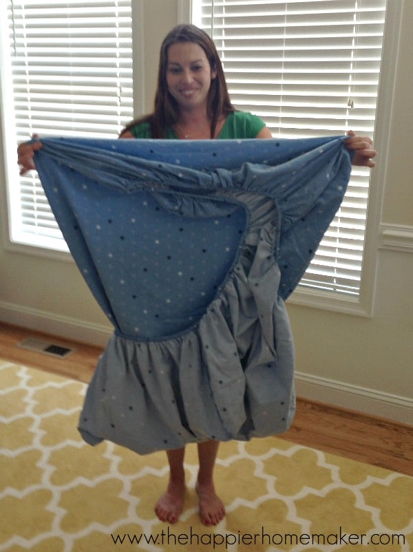 fold a fitted sheet how to