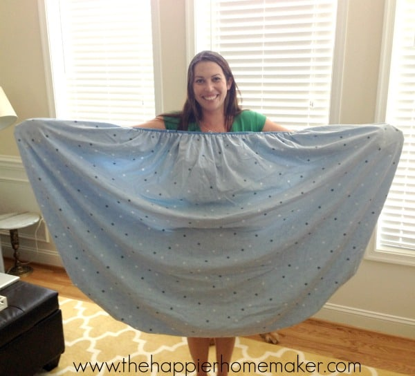 how to fold fitted sheet tutorial