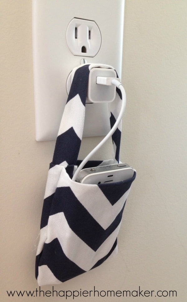 tutorial phone charging bag