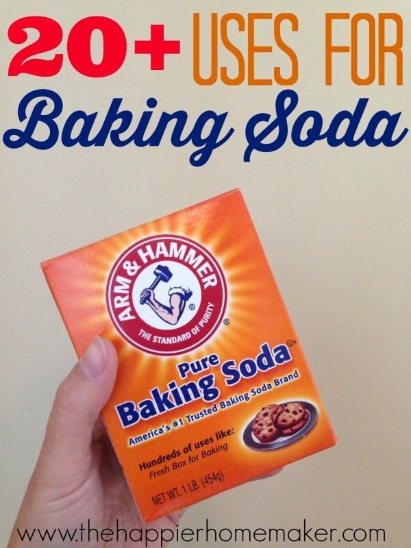 uses baking soda