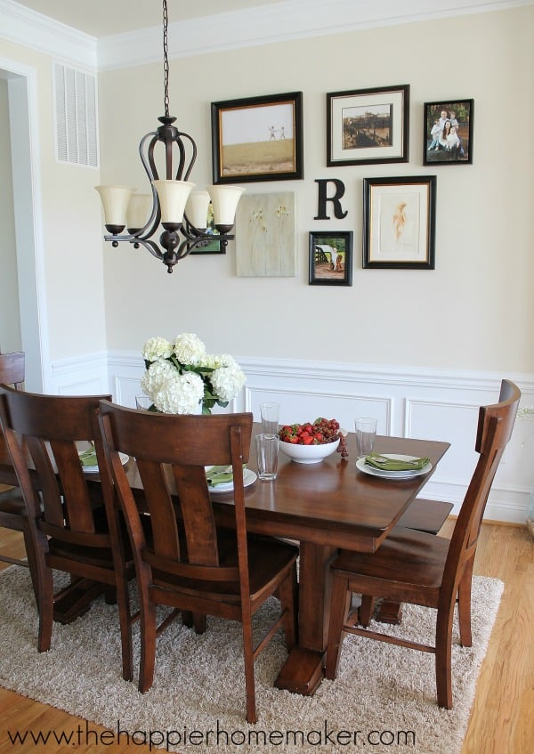 dining room summer home tour