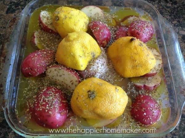 greek lemon potato recipe