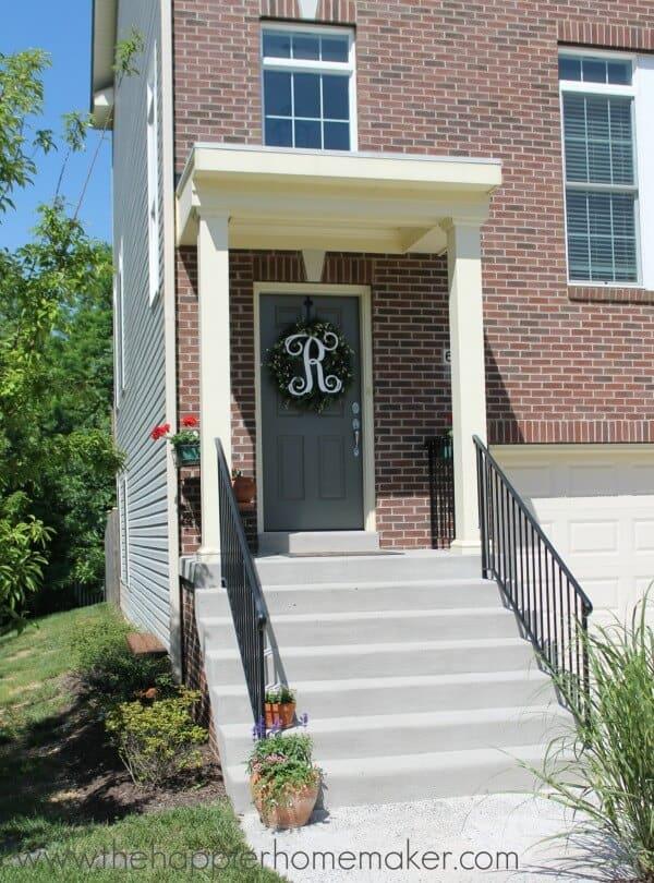 home tour summer front porch