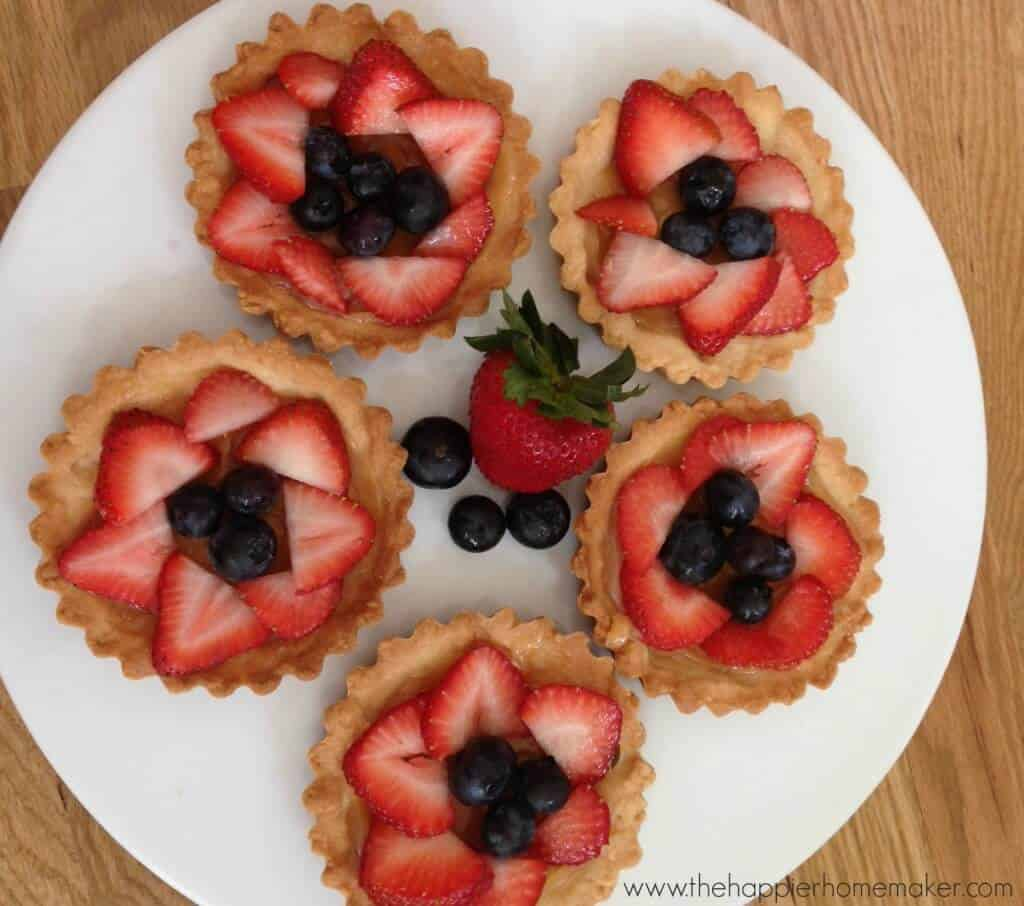 how to make berry tarts