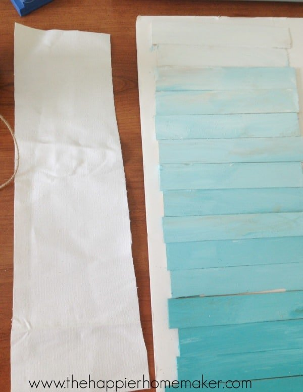 how to make ombre wood sign