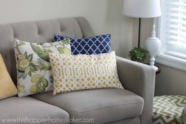 Fun with Pattern: Our Family Room Reveal