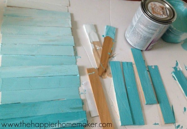 ombre wood sign tutorial
