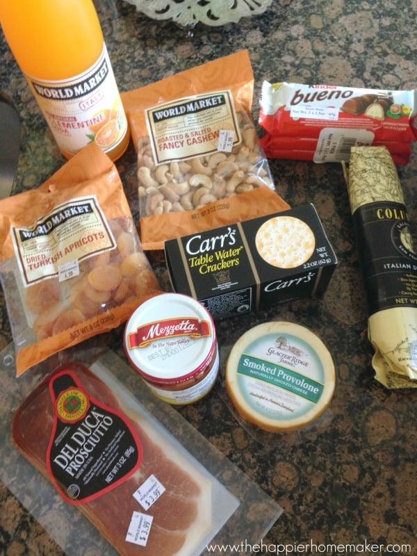 world market picnic goodies
