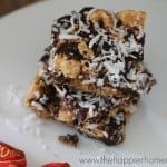 coconut dark chocolate marshmallow s'mores bars