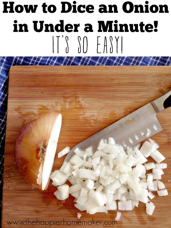 onion dicing tutorial