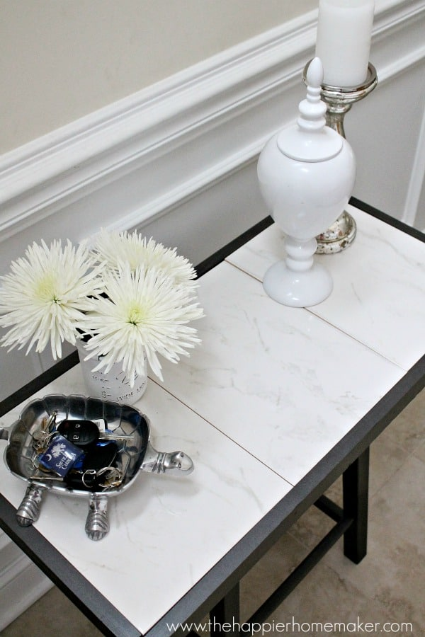 marble top table diy