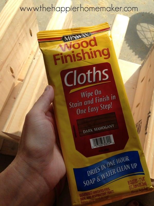 minwax finishing cloths