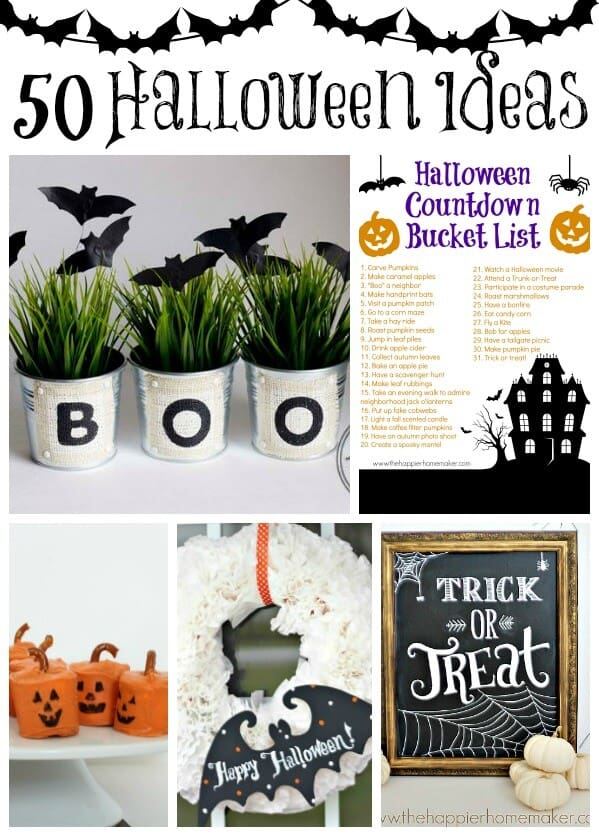 50 halloween ideas