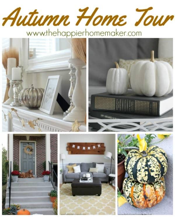 Autumn home tour 14 Collage