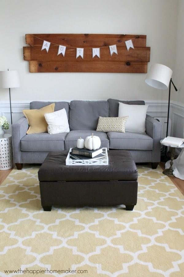 autumn fall living room