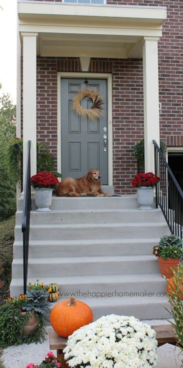 autumn front porch 14