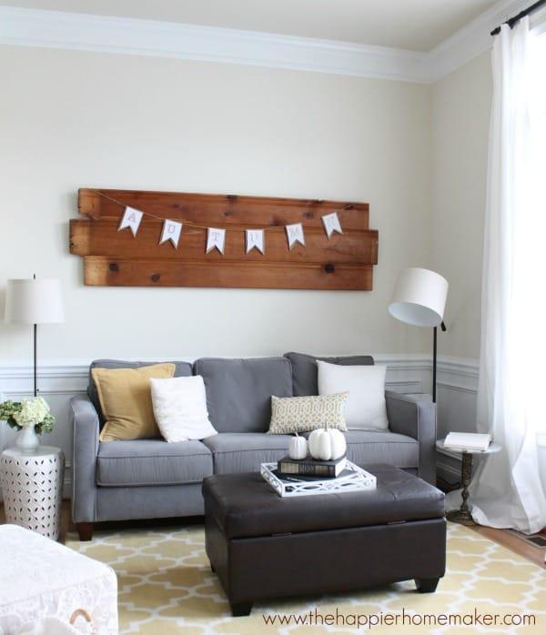 autumn living room