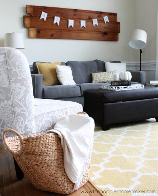 living room fall tour