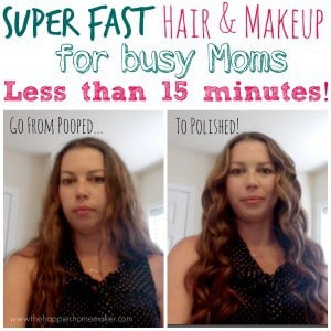 5 everyday hair and makeup