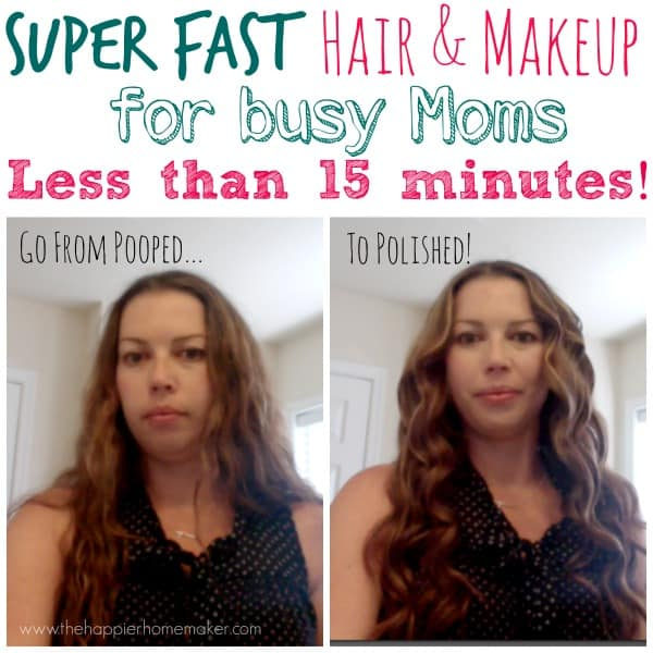 super fast hair and makeup