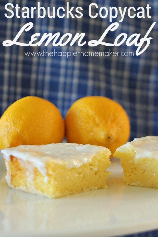 Starbucks Copycat Lemon Loaf Recipe