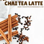 chai tea latte spices recipe