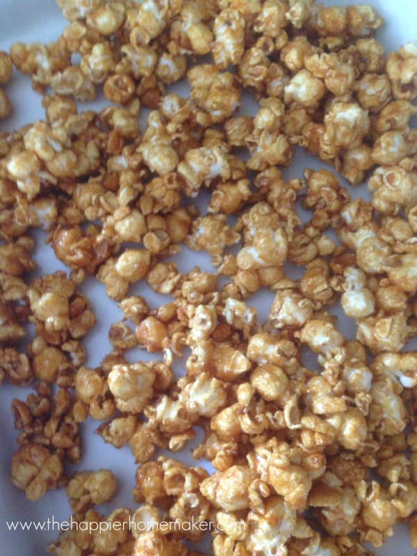 how to make caramel corn easy