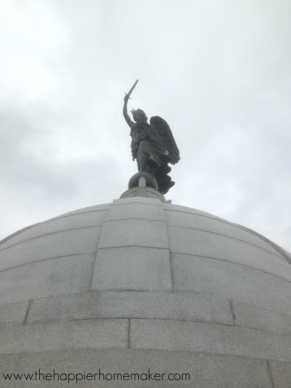 pensylvania memorial gettysburg