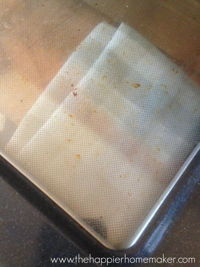 dirty oven glass