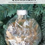 easy diy tinsel ornament